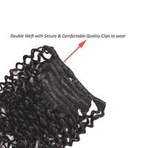 Loxxy Water Wave Clip In Hair Extensions Brazilian Virgin Natural Hair Clip In H image 8