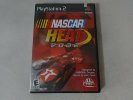 NASCAR Heat 2002 Sony Playstation 2 PS2 Game No Manual Free Ship - $11.87