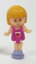 1991 Vintage Polly Pocket Doll Figure Pullout Playhouse - Midge Bluebird Toys - $8.00