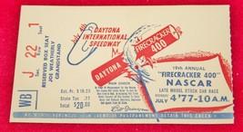 Vintage 1977 DAYTONA FIRECRACKER 400 Nascar Race TICKET STUB Richard Petty - $49.49
