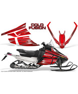 ARCTIC CAT F SERIES SNOWMOBILE GRAPHICS KIT CREATORX DECALS COLD FUSION RED - $290.95