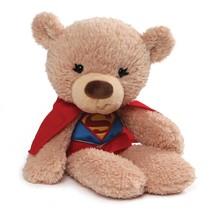 """GUND DC Universe Fuzzy Bear Supergirl Plush, 14"""", Tan - $24.08"""