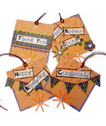 Coordinated 4 Pk Multi Occasion Gift Tags Greetings For Various Events - $4.00