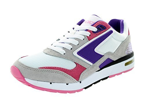 Brooks Women's Fusion Electric Purple/Carnation Pink/White Running Shoe 8 Women