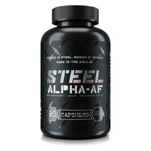 Steel Supplements Alpha-AF Alpha AF T-Booster & E-Blocker, 90 Capsules - $68.95