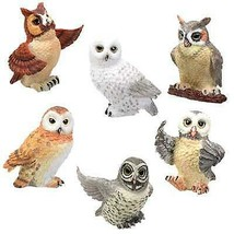 Owls Collectible Figurine, Set of 6 - $29.69