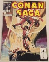 Conan Saga #10 (Feb 1988, Marvel) VG/FN Condition  Comic Magazine - $3.99