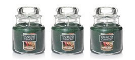 Yankee Candle Aromatic Orange & Evergreen Small Jar Candle Single Wick  ... - $27.50
