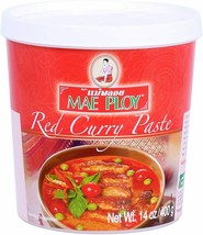 THAI RED CURRY PASTE (400G TUB) BY MAE PLOY - $19.79+