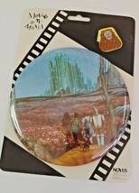 Wizard Of Oz Emerald City 6 Inch Vintage Button Pin - $18.69