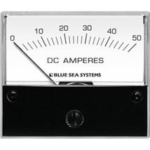 Blue Sea 8022 DC Analog Ammeter - 2-3/4 Face, 0-50 Amperes DC - $81.29