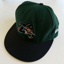 New Orleans Zephyrs Nutria Minor League New Era 59/50 Fitted Wool Hat 7 ... - $34.53