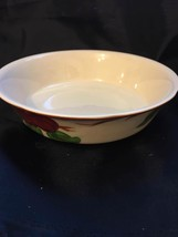 "FRANCISCAN APPLE SERVING BOWL 7.75""  ENGLAND  - $12.82"