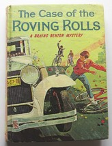 Brains Benton Case of the Roving Rolls 1961 Book Hardcover #4 First Edit... - $17.72