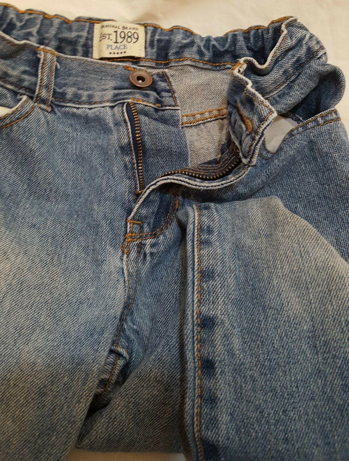 Blue Jeans Denim Boys Size 8 Bootcut Children's Place image 7