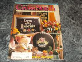 Cross Stitch & Country Craft Magazine May/June 1994 Petite Fleur - $0.99