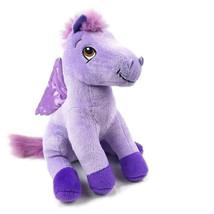 Disney Sofia The First Minimus Plush Pegasus Purple Wings Pony Horse Stu... - $18.81