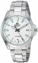 Casio Men's Edifice Quartz Watch with Stainless-Steel Strap, Silver - £74.65 GBP