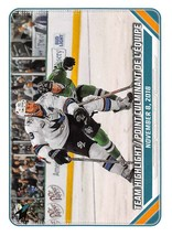2019-20 Topps NHL Stickers #393 San Jose Sharks Sharks Team Highlights - $1.49