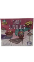 New Creative Hands Candy Superheros Fun Craft Kit 36pcs - $14.85
