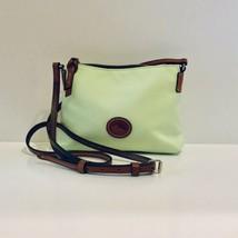 Dooney & Bourke Apple Green Nylon Crossbody Pouchette Bag - $57.88