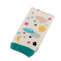 Set of 2 Cute Moon&Star Baby Boy/Girl Leg Wamers Cotton Toddler Leg Guards,0-2Y
