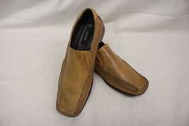 "ALFANI Brown Leather ""Sarge"" Driving Shoes, Mens Size 10M-B18 - $40.00"