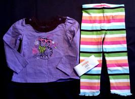 Girl's Size 18-24 M Months 2 Pc Purple Glitter Kitten Top, NWT Gymboree ... - $20.50
