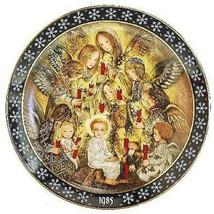 <><  The Angels Vigil collector plate Sulamith Wulfing Original box COA ... - $9.74