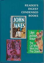 Reader's Digest Condensed Books Vol 6, 1993 [Hardcover] Braun / Jakes / ... - $3.99