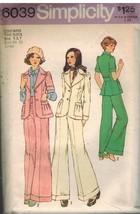 6039 Vintage Simplicity Patron Couture Fille Junior sans Doublure Veste - $4.84