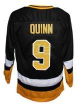Custom Name # Cleveland Lumberjacks Retro Hockey Jersey Black Quinn #9 Any Size image 4