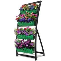 6-Ft Raised Garden Bed - Vertical Garden Freestanding Elevated Planter w... - $275.36 CAD