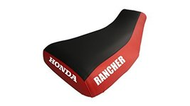 Honda Rancher Seat Cover Black And Red Color Year 2004 To 2006 - $45.99