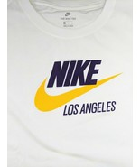 Nike Sportswear Los Angeles Lakers White TShirt BQ6607-100 Womens Size L... - $26.95
