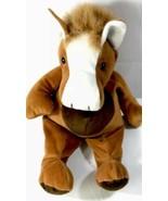 "Kellytoy Kuddle Me Toys Brown Floppy Horse Plush Stuffed Animal Doll 18"" - $22.47"