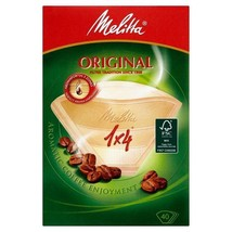 Melitta Four Cup Filter Papers 40 per pack - $3.79
