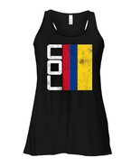 Colombia Flag Flowy Racerback Tank National Team Country Supporter COL - $26.95+
