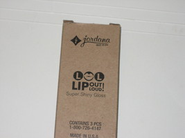 ( Pack Of 3) Jordana Lip Out Loud Super Shiny Gloss ASAP 106 - $10.00