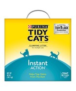 Purina Tidy Cats Clumping Cat Litter; Instant Action Multi Cat Litter - ... - $17.25
