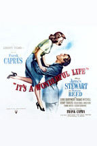 James Stewart and Donna Reed in It's a Wonderful Life 16x20 Canvas Giclee - $69.99