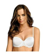 Maidenform Essential Multiway Convertible Push-Up Bra with Lace White Si... - $15.83