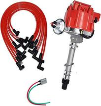 A-Team Performance HEI Distributor, 8.0mm Under the Exhaust Spark Plug Wires, an