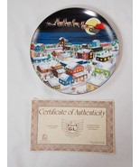 Honda A GoldWing Christmas 1987 Collectors Plate Certificate 1 of 3000 RARE - $494.99