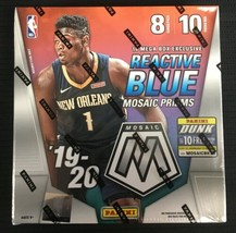 New 2019-20 Panini Mosaic Mega Box 80 NBA Cards Basketball! Nunn, ZION M... - $399.95