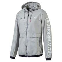 Puma Bmw Motorsport Men's Premium MSP Lightweight Jacket Heather Gray 57278003