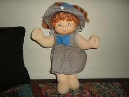 Doll with Moveable Blue Eyes Soft Body Wire Poseable Rubber Head 16 inch - $120.15