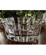 Orrefors Stenhammar Oval Bowl Mint Condition Outstanding Swedish Crystal... - $444.51