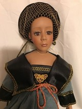 Beautiful Seymour Mann African American Doll With Certificate-No box - $29.92