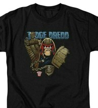 Judge Dredd T Shirt  2000 AD vintage retro comic book black graphic tee JD110 image 2